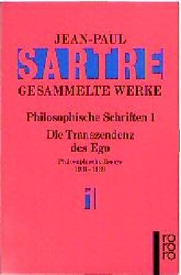 Gesammelte Werke. Philosophische Schriften I