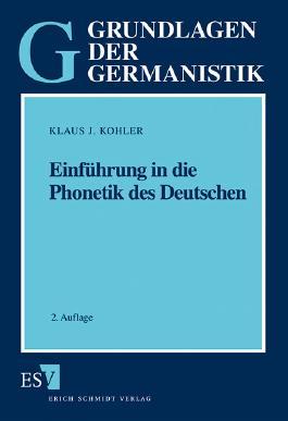 Einführung in die Phonetik des Deutschen
