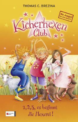 No Jungs! Kicherhexen-Club, Band 01