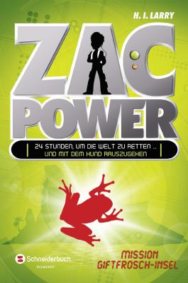 Zac Power 01: Mission Giftfrosch-Insel