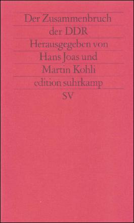 Der Zusammenbruch der DDR