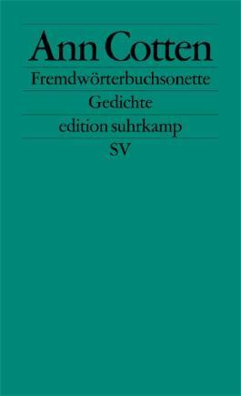 Fremdwörterbuchsonette