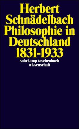 Philosophie in Deutschland 1831–1933