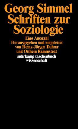 Schriften zur Soziologie. Eine Auswahl.