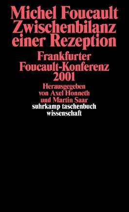 Michel Foucault. Zwischenbilanz einer Rezeption