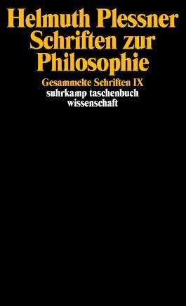 Schriften zur Philosophie