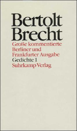 Gedichte 1. Sammlungen 1918–1938
