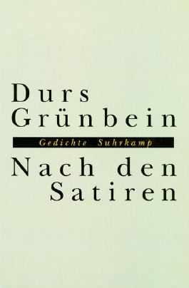 Nach den Satiren