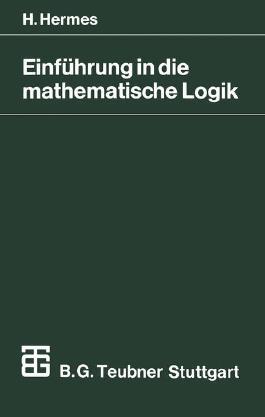 Einführung in die mathematische Logik