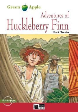The Adventures of Huckleberry Finn - Buch mit Audio-CD