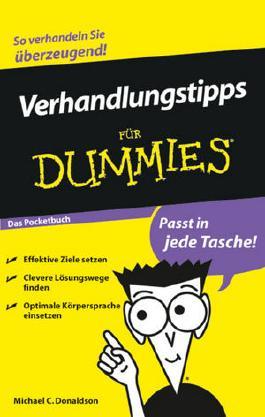 Verhandlungstipps für Dummies Das Pocketbuch