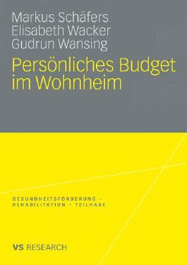 Persönliches Budget im Wohnheim