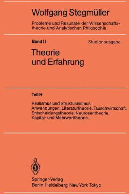 Realismus Und Strukturalismus. Anwendungen