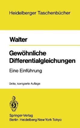 Gewöhnliche Differentialgleichungen (6300 839)