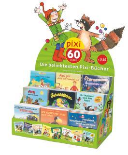 Pixi Jubiläums-Display: Die beliebtesten Pixi-Bücher