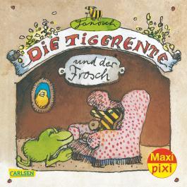 Maxi Pixi 213: Die Tigerente und der Frosch