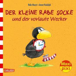 Maxi Pixi 231: Der kleine Rabe Socke und der vorlaute Wecker