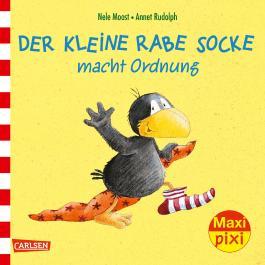 Maxi Pixi 232: Der kleine Rabe Socke macht Ordnung