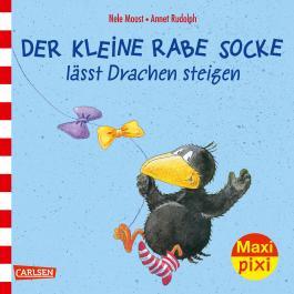 Maxi Pixi 233: Der kleine Rabe Socke lässt Drachen steigen