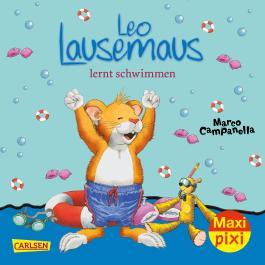 Maxi Pixi 255: Leo Lausemaus lernt schwimmen