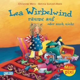 Maxi-Pixi Nr. 32: Lea Wirbelwind räumt auf