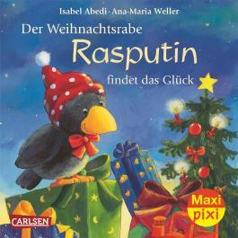 Maxi-Pixi Nr. 79: Der Weihnachtsrabe Rasputin findet das Glück