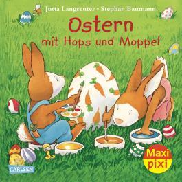 Maxi Pixi 123: Ostern mit Hops und Moppel