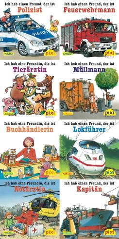 Pixi-Bücher / Pixi-Serie 141: Wenn ich groß bin, werde ich ...