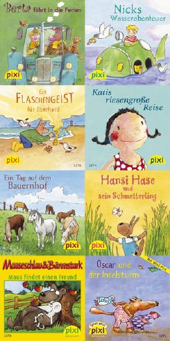 Pixi-Bücher / Pixi-Serie 154: In die Ferien mit Pixi