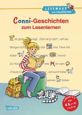 LESEMAUS zum Lesenlernen Sammelbände: Conni-Geschichten zum Lesenlernen