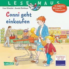 LESEMAUS 82: Conni geht einkaufen