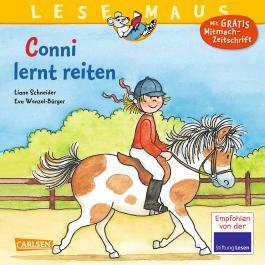 LESEMAUS 16: Conni lernt reiten