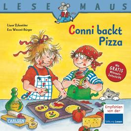 LESEMAUS, Band 65: Conni backt Pizza