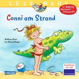 LESEMAUS 14: Conni am Strand