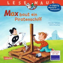 Max baut ein Piratenschiff