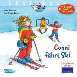 LESEMAUS 22: Conni fährt Ski