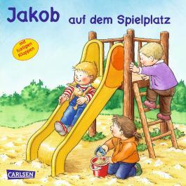 Jakob auf dem Spielplatz
