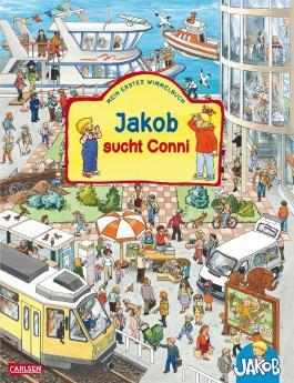 Viele bunte Sachen suchen mit Jakob und Conni: Jakob sucht Conni