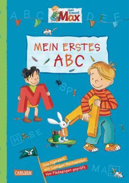 Max Blaue Reihe: Mein Freund Max - Mein erstes ABC