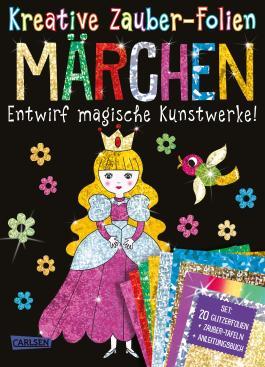 Kreative Zauber-Folien: Märchen: Set mit 10 Zaubertafeln, 20 Folien und Anleitungsbuch