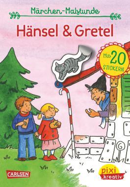 Pixi kreativ 71: Meine Märchen-Malstunde: Hänsel und Gretel
