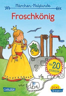 Pixi kreativ 72: Meine Märchen-Malstunde: Froschkönig