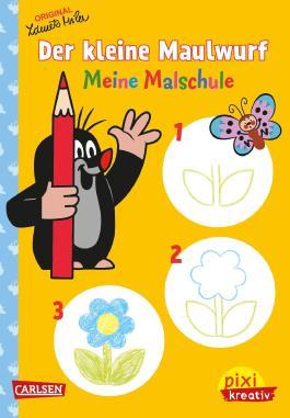 Pixi kreativ 75: Der kleine Maulwurf: Meine Malschule
