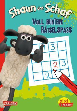 Pixi kreativ 77: Shaun das Schaf: Voll bunter Rätselspaß