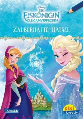 Pixi kreativ 98: Disney: Die Eiskönigin - Völlig unverfroren / Zauberhafte Rätsel