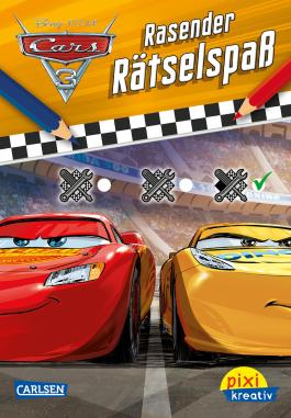 Pixi kreativ 112: Disney Cars 3 - Rasender Rätselspaß
