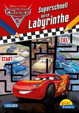 Pixi kreativ 113: Disney Cars 3 - Superschnell durch Labyrinthe