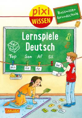 Pixi Wissen 98: Basiswissen Grundschule: Lernspiele Deutsch
