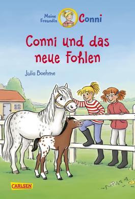 Conni-Erzählbände 22: Conni und das neue Fohlen (farbig illustriert)