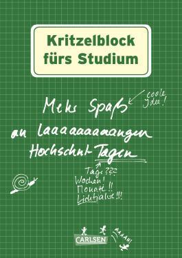Kritzelblock fürs Studium